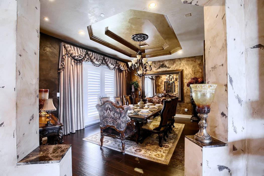 The home has a Tuscan design. (Signature Real Estate Group)