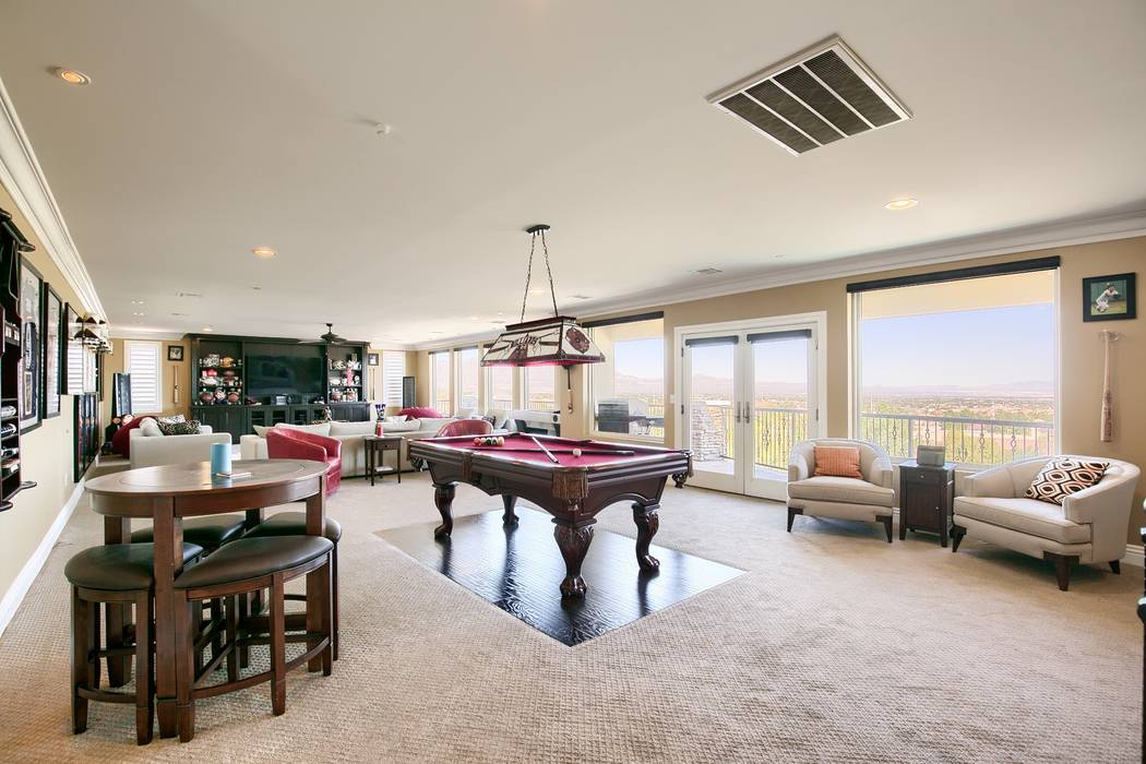 A game room is on the fourth floor. (Signature Real Estate Group)