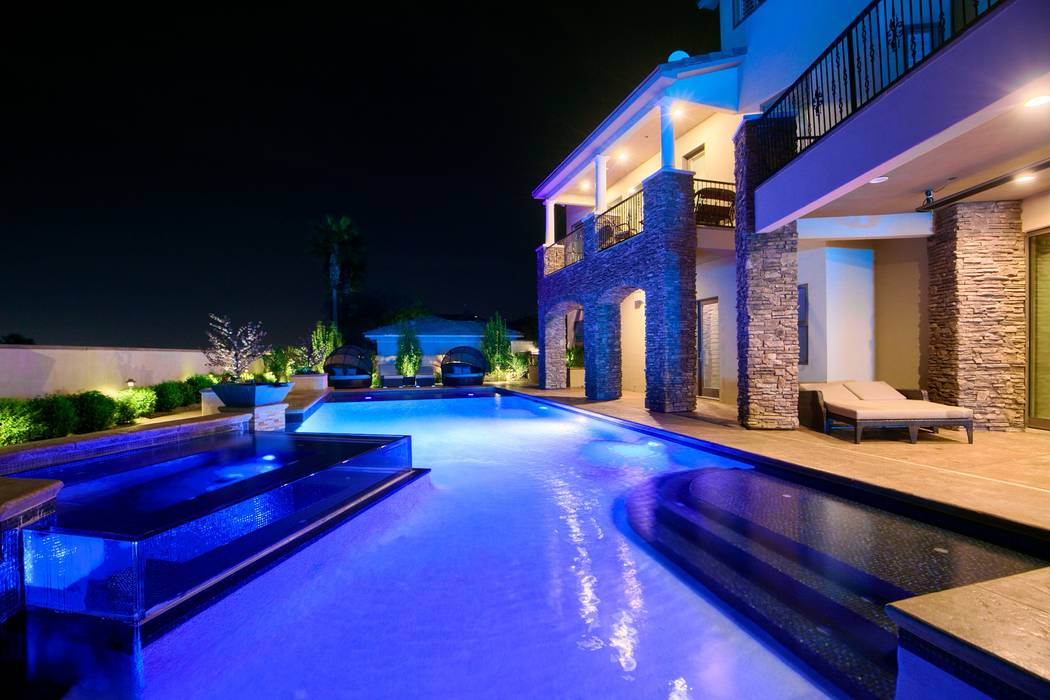 The home features a 60-foot pool. (Signature Real Estate Group)