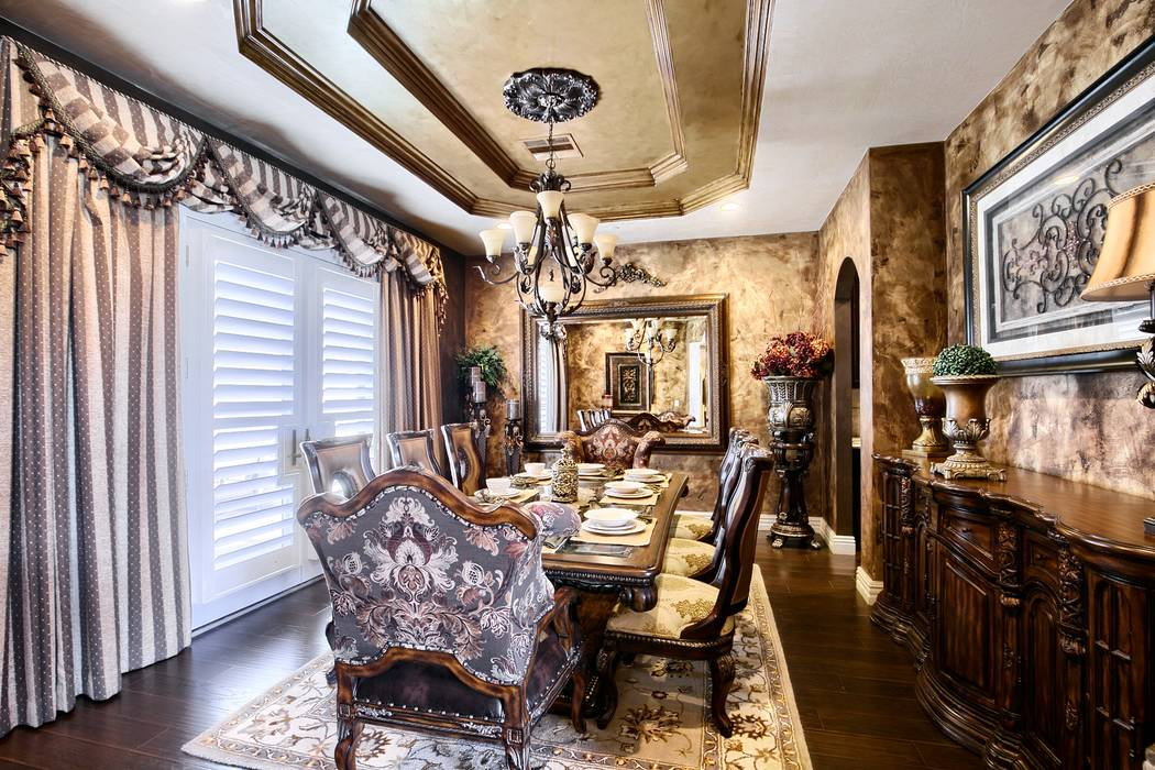 The formal dining room. (Signature Real Estate Group)