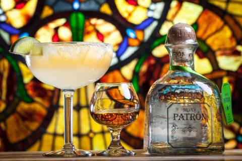 Margarita and Patron tequila at Pancho's Mexican Restaurant (Chris Wessling/Pancho's Mexican Re ...