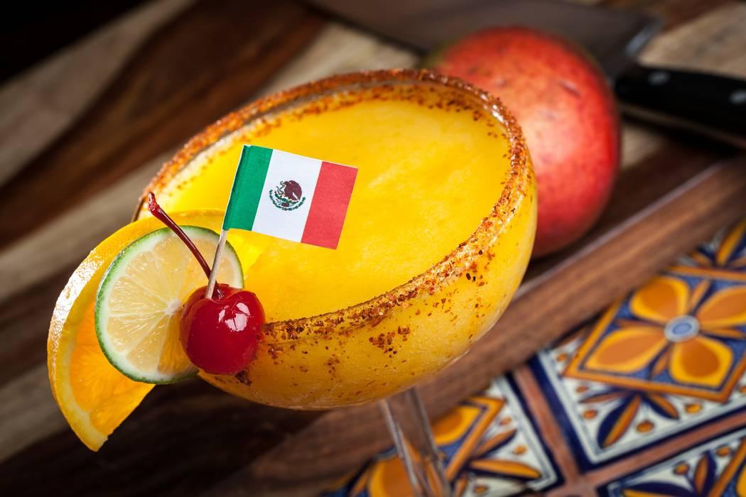 Mango Margarita at Pancho's Mexican Restaurant (Chris Wessling/Pancho's Mexican Restaurant)