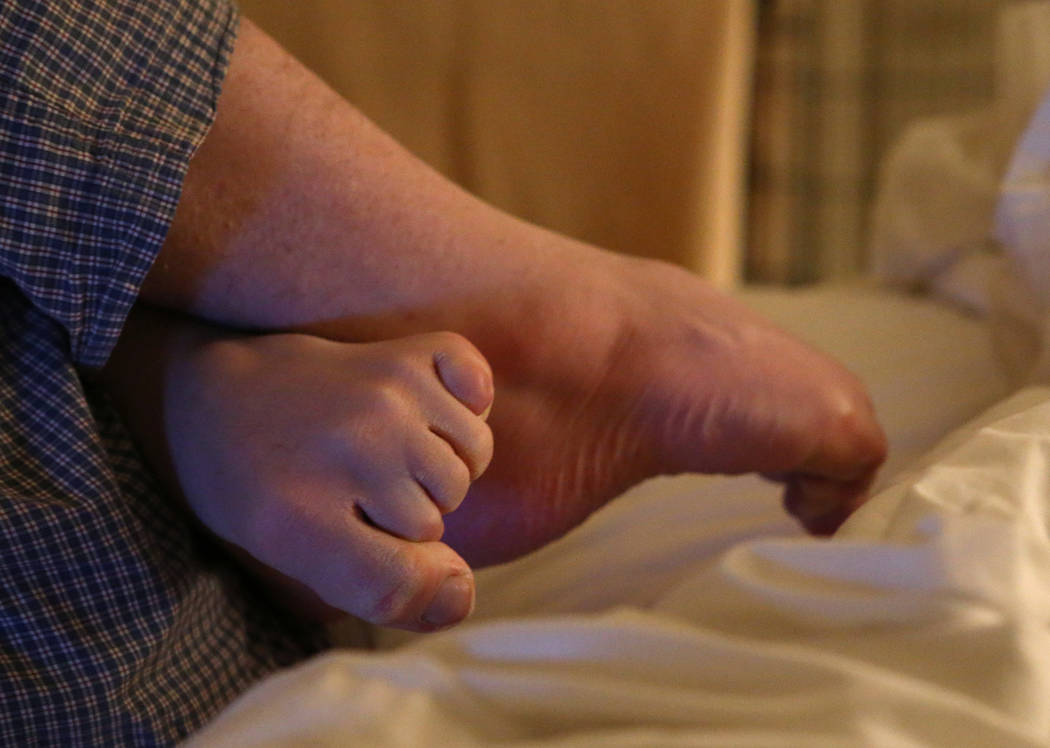 Grayson McClure, who suffers constant tremors from a mysterious disease, endures a seizure in h ...
