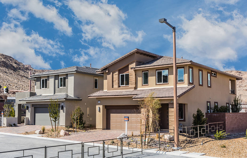 Jade Ridge by William Lyon Homes in The Cliffs village is one of 10 neighborhoods in Summerlin ...