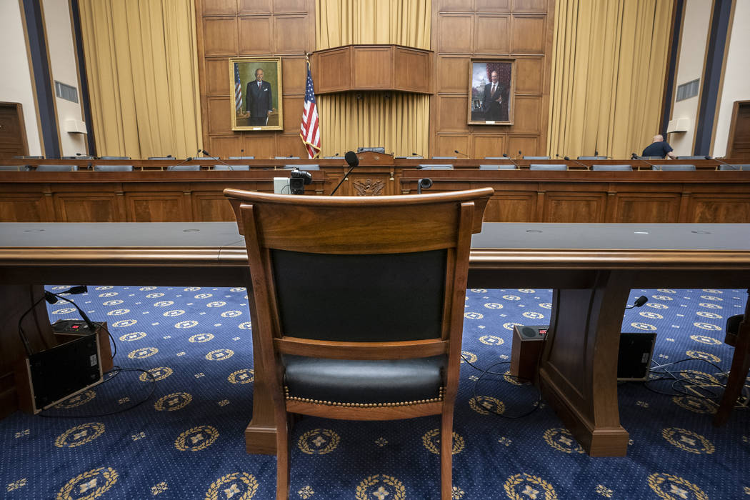 The House Judiciary Committee witness chair will be without its witness this morning, Attorney ...