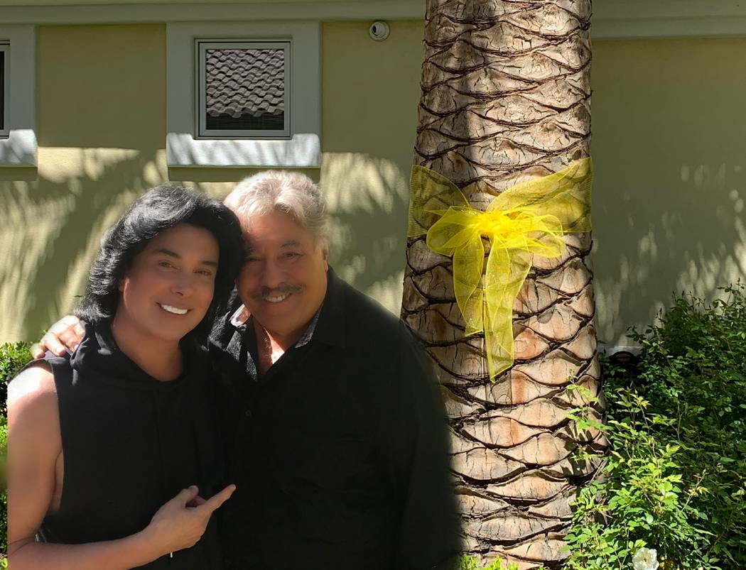 Frank Marino's lunch guest have included Tony Orlando, shown here on the weekend of Orlando's b ...