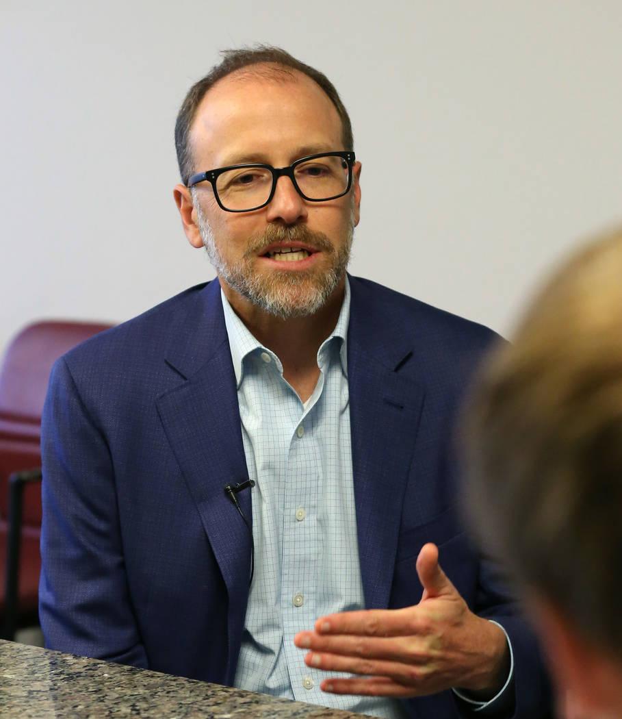Dr. Joe Grzymski, principal investigator of the Healthy Nevada Project, speaks about free genet ...