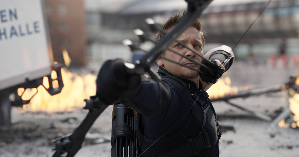 Marvel's Captain America: Civil War Hawkeye/Clint Barton (Jeremy Renner) Photo Credit: Film F ...