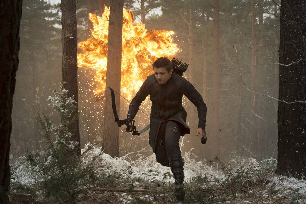Marvel's Avengers: Age Of Ultron Hawkeye/Clint Barton (Jeremy Renner) Ph: Jay Maidment &#xa ...