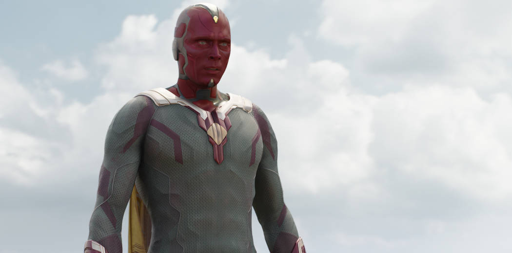 Marvel's Captain America: Civil War Vision (Paul Bettany) Photo Credit: Film Frame © Ma ...