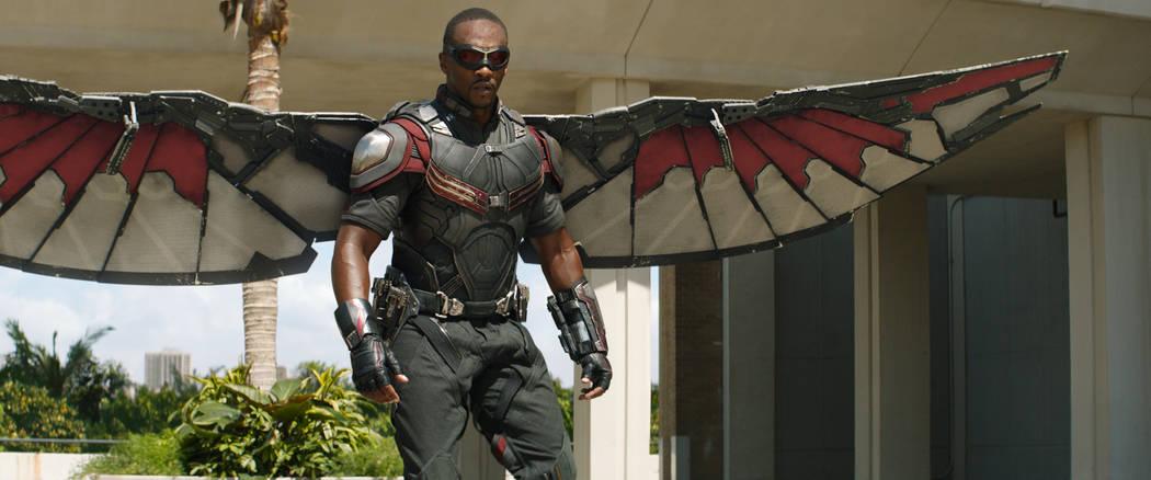 Marvel's Captain America: Civil War Falcon/Sam Wilson (Anthony Mackie) Photo Credit: Film Fra ...