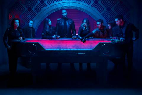 "MARVEL'S AGENTS OF S.H.I.E.L.D. - ABC's ""Marvel's Agents of S.H.I.E.L.D."" stars Ming- ..."