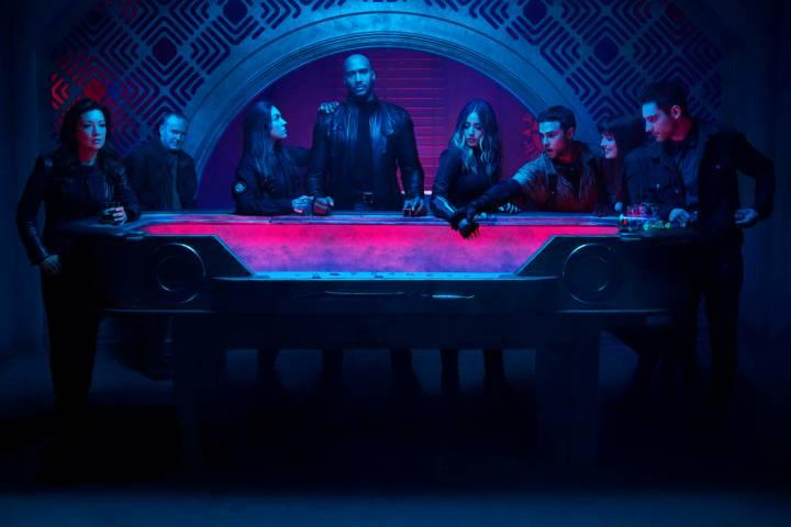 "MARVEL'S AGENTS OF S.H.I.E.L.D. - ABC's ""Marvel's Agents of S.H.I.E.L.D."" stars Ming- ..."