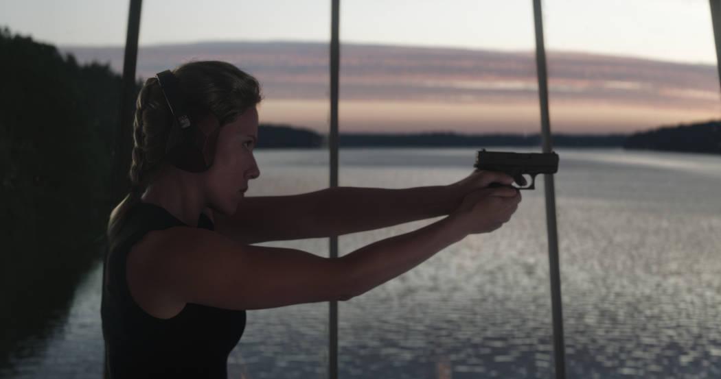 Marvel Studios' AVENGERS: ENDGAME..Black Widow/Natasha Romanoff (Scarlett Johansson)..Photo: Fi ...