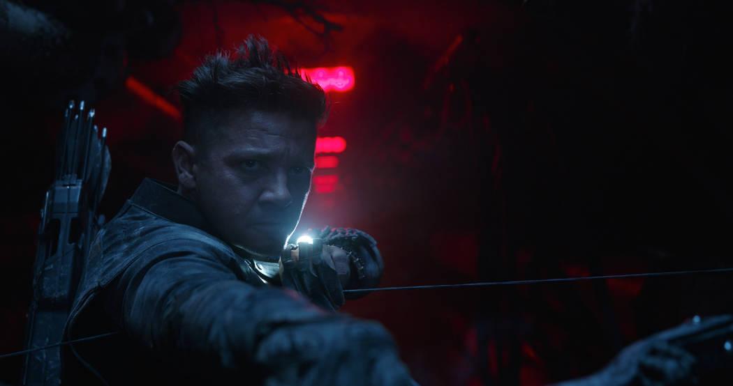 Marvel Studios' AVENGERS: ENDGAME..Hawkeye/Clint Barton (Jeremy Renner)..Photo: Film Frame..&#x ...
