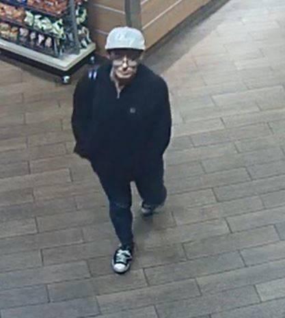Robbery suspect (Metropolitan Police Department)