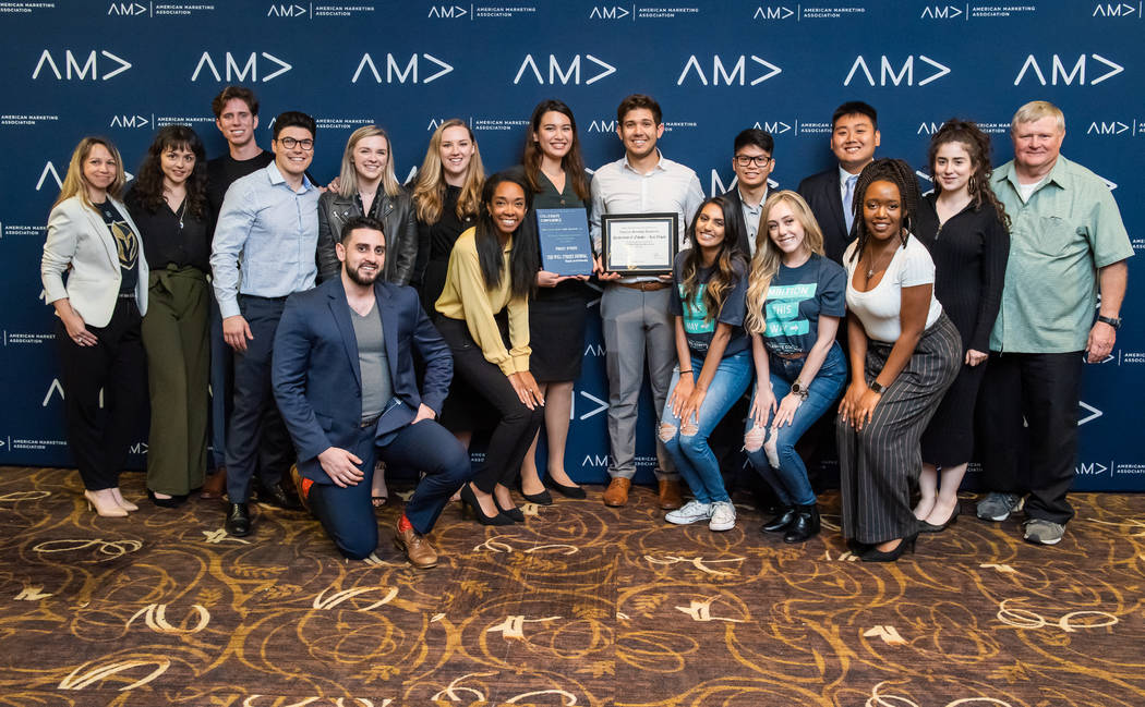 UNLV American Marketing Association at the Annual AMA International Collegiate Conference in Ne ...