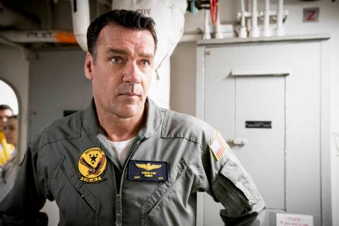 """The Guardian"" -- Pictured: David James Elliott (Navy Captain Harmon ""Harm"" ..."