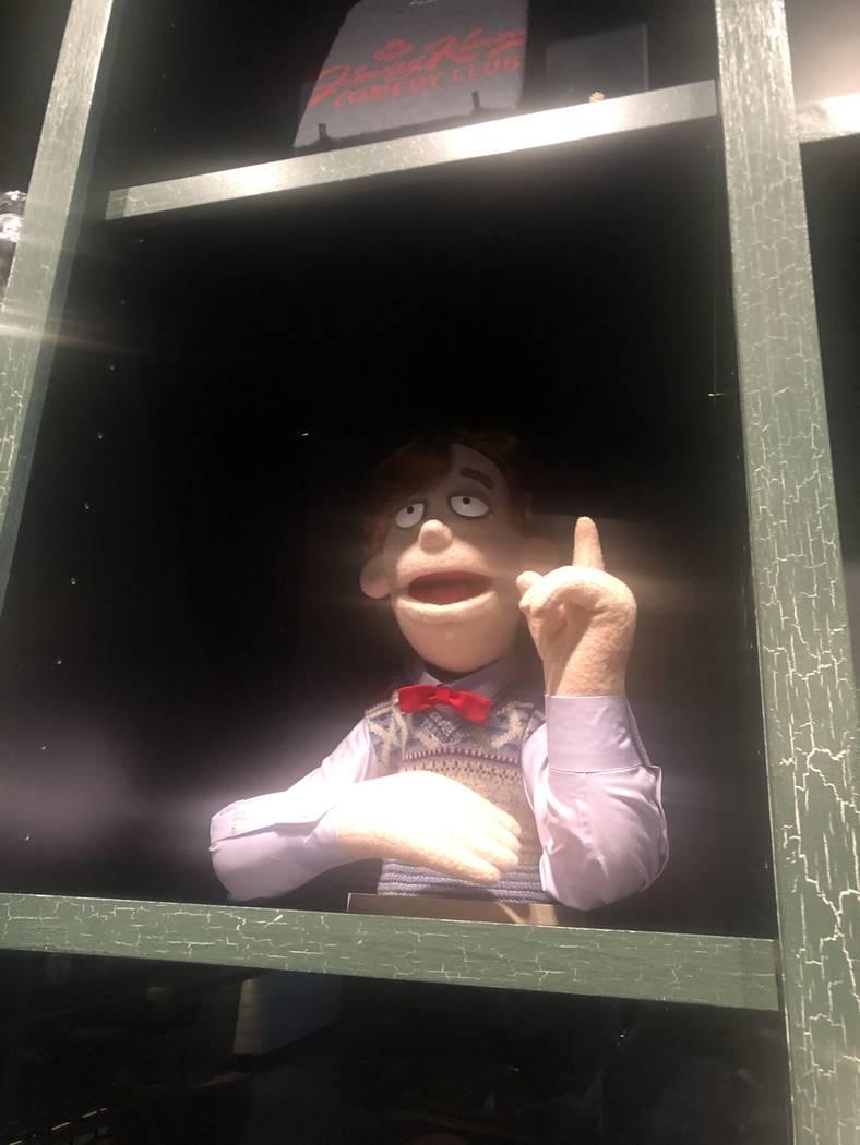 "A ""Crank Yankers"" puppet at Jimmy Kimmel's Comedy Club. John Katsilometes/Las Vegas Review-Jour ..."