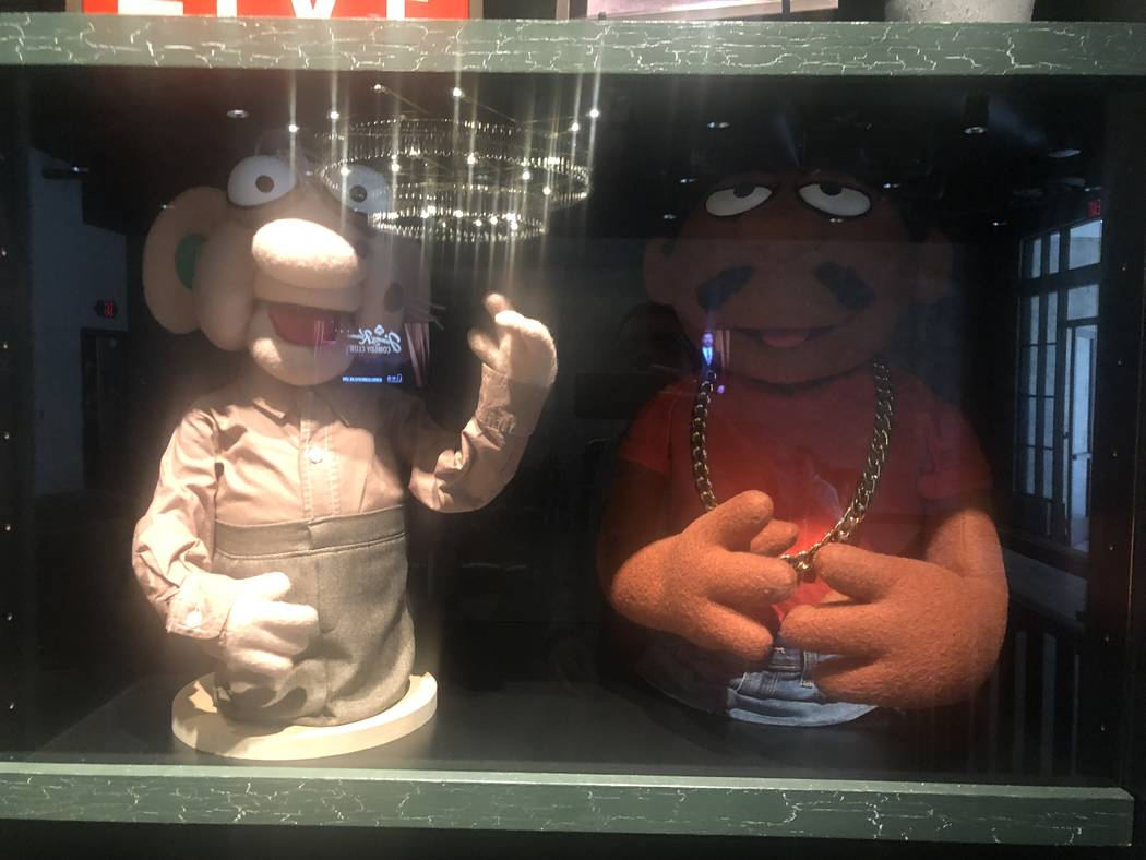 "Puppets from ""Crank Yankers"" TV show are shown at Jimmy Kimmel's Comedy Club. John Katsilometes ..."