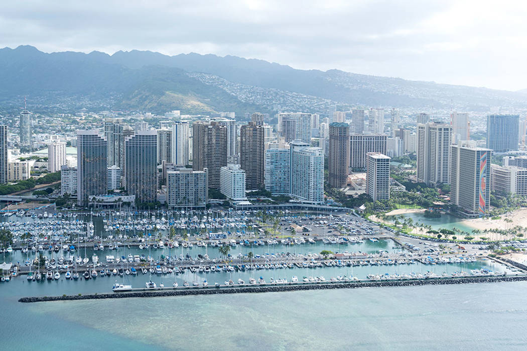 Ala Wai Boat Harbor, Honolulu, Hawaii (Getty Images)