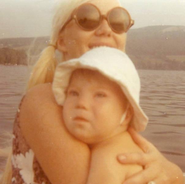 Linda Smith with her son Christopher. (Courtesy Linda Smith)