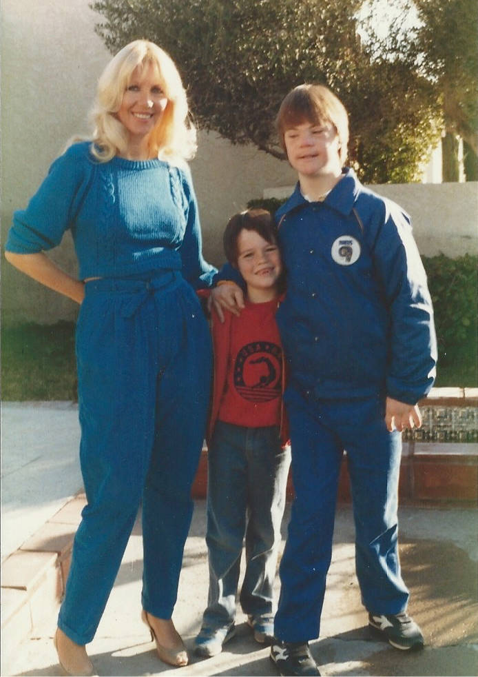 Linda Smith with her sons Jason and Christopher. (Courtesy Linda Smith)
