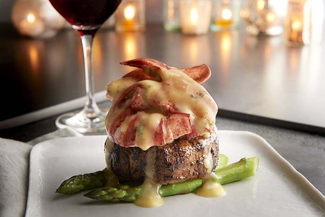 Steak and lobster special at Morton's the Steakhouse. (Landry's)