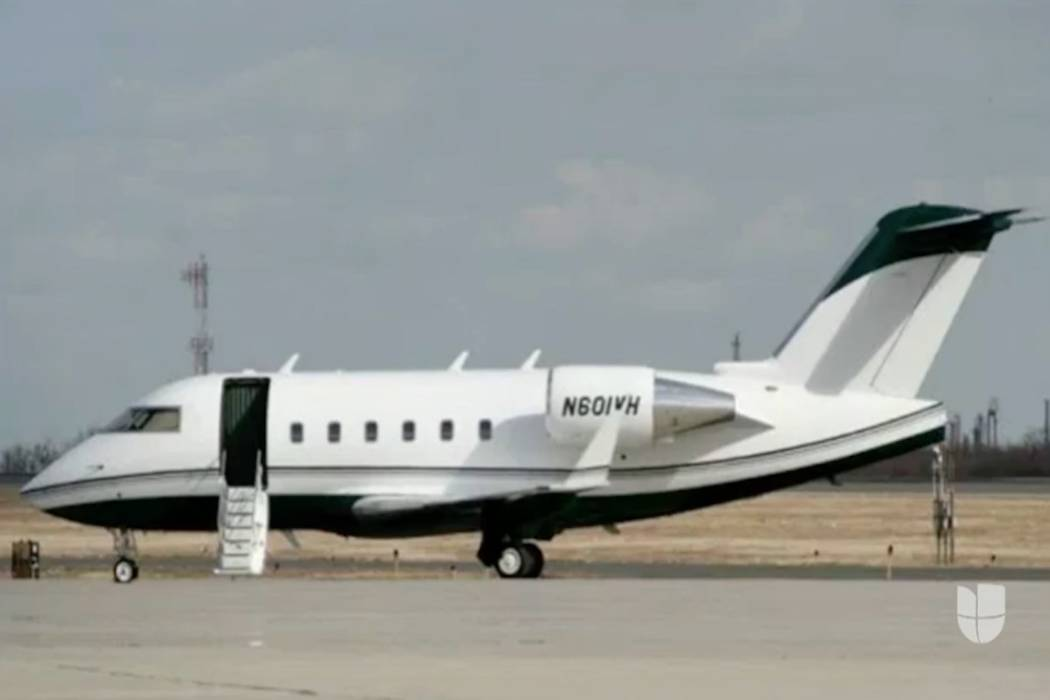 A private executive jet flying from Las Vegas has crashed in northern Mexico, authorities said ...
