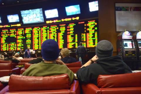Nevada's sportsbook (Las Vegas Review-Journal)