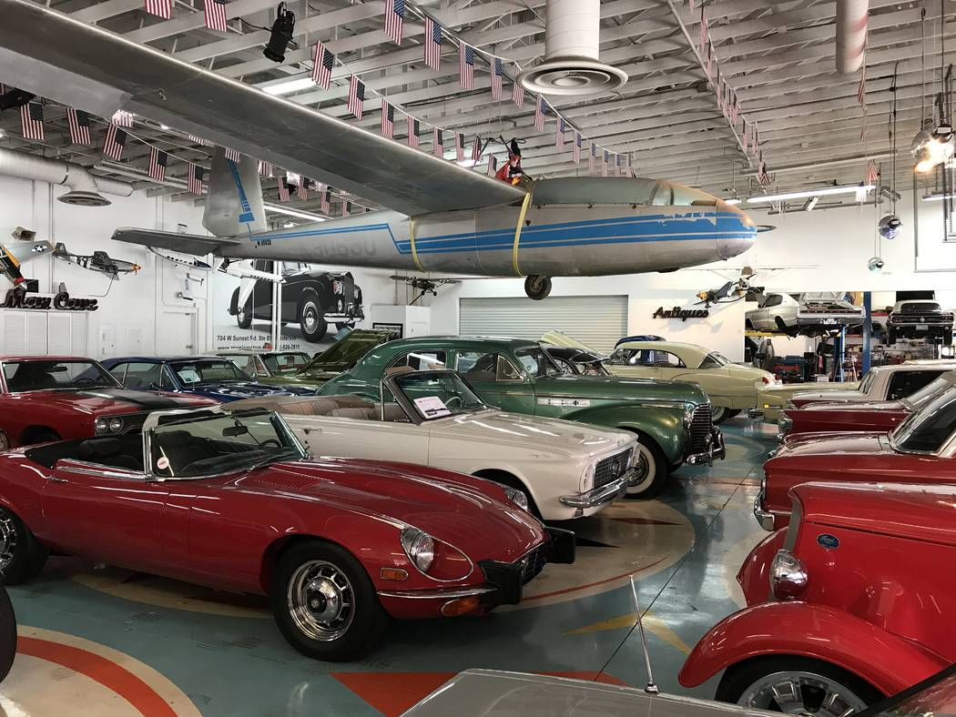 Classic cars from Atomic Motors will be on display at Saturday's Drive 25 car and golf showcase ...