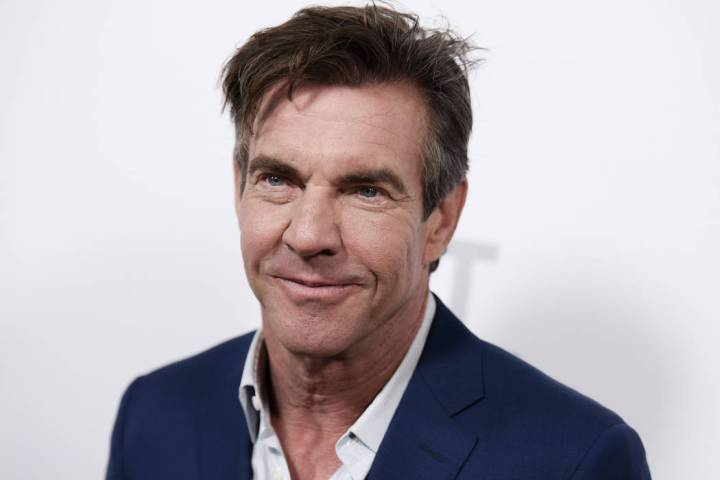 """Actor Dennis Quaid attends the LA Premiere of """"The Art of More"""" held at Sony Pictures ..."""