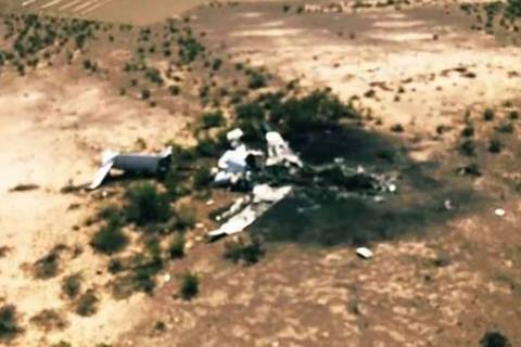 The wreckage of the Canadair Challenger 600 that killed 14 on Sunday was found in the Coahuila ...