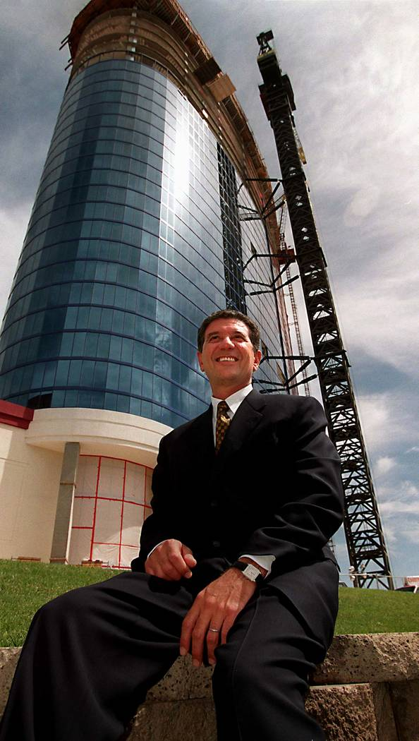 Tony Marnell II, founder of the Rio, outside the casino in 1997. (Las Vegas Review-Journal)