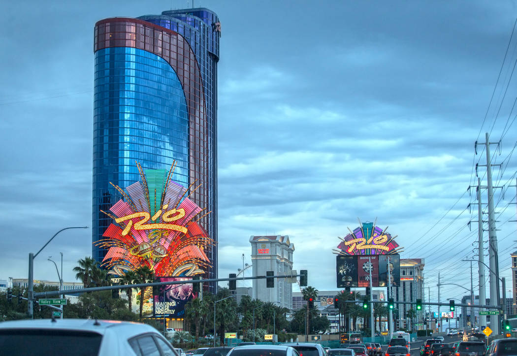 The Rio was the first all-suite resort in Las Vegas and first with floor-to-ceiling glass in al ...