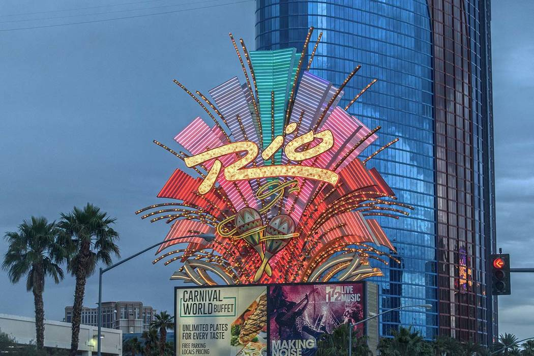The Rio opened the Ipanema tower in January 1990 less than two months after The Mirage opened o ...