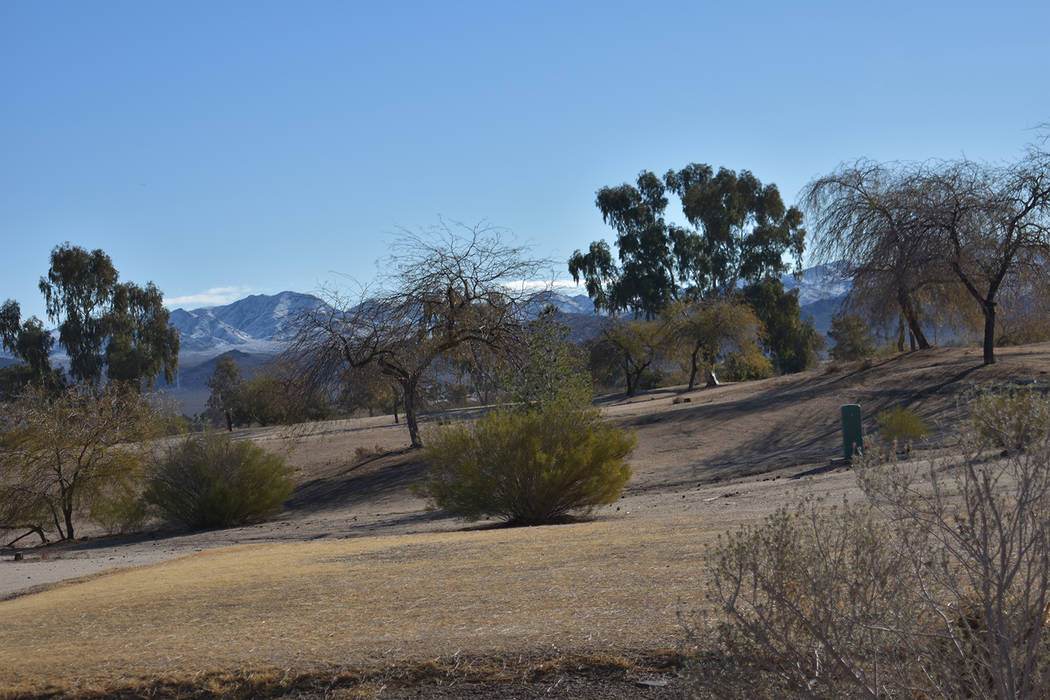 Black Mountain Golf Course & Country Club off Greenway Road on Monday, Feb.18. (Rachel Spacek/L ...