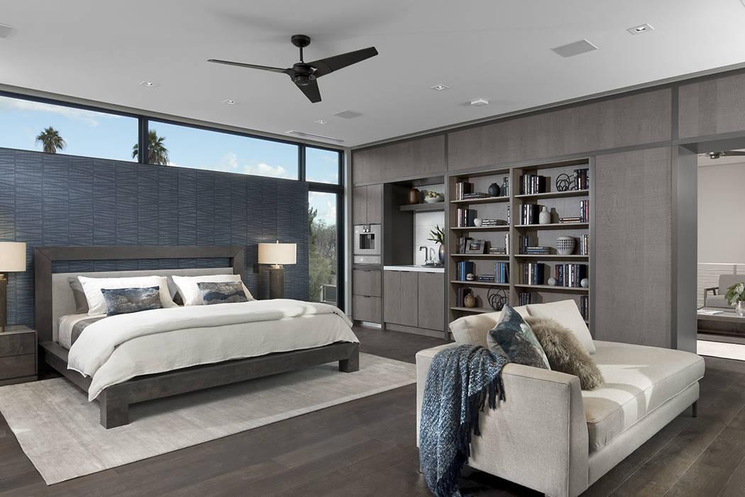 The master suite. (Studio G Architecture)