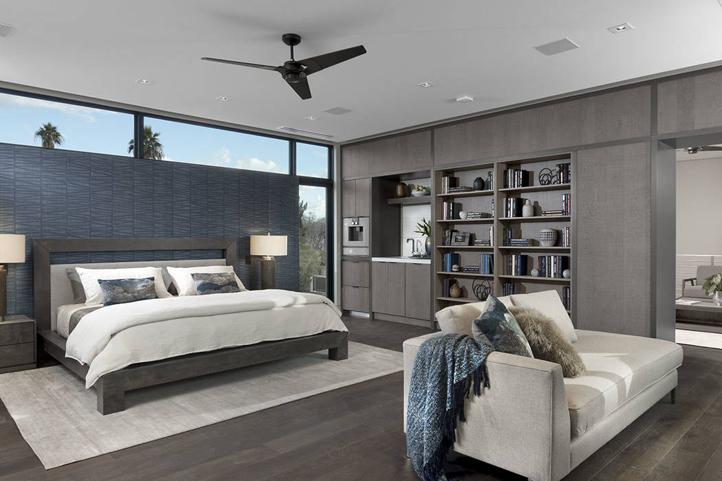 The master suite. (Studio G Architecture)