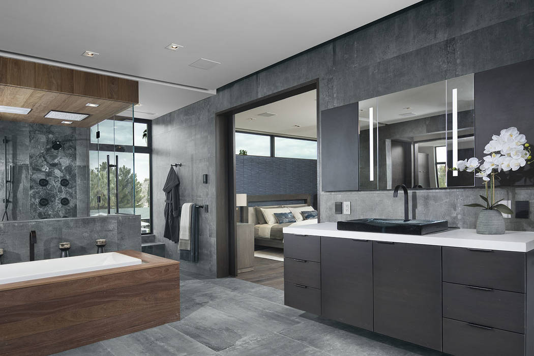 The master bath. (Studio G Architecture)