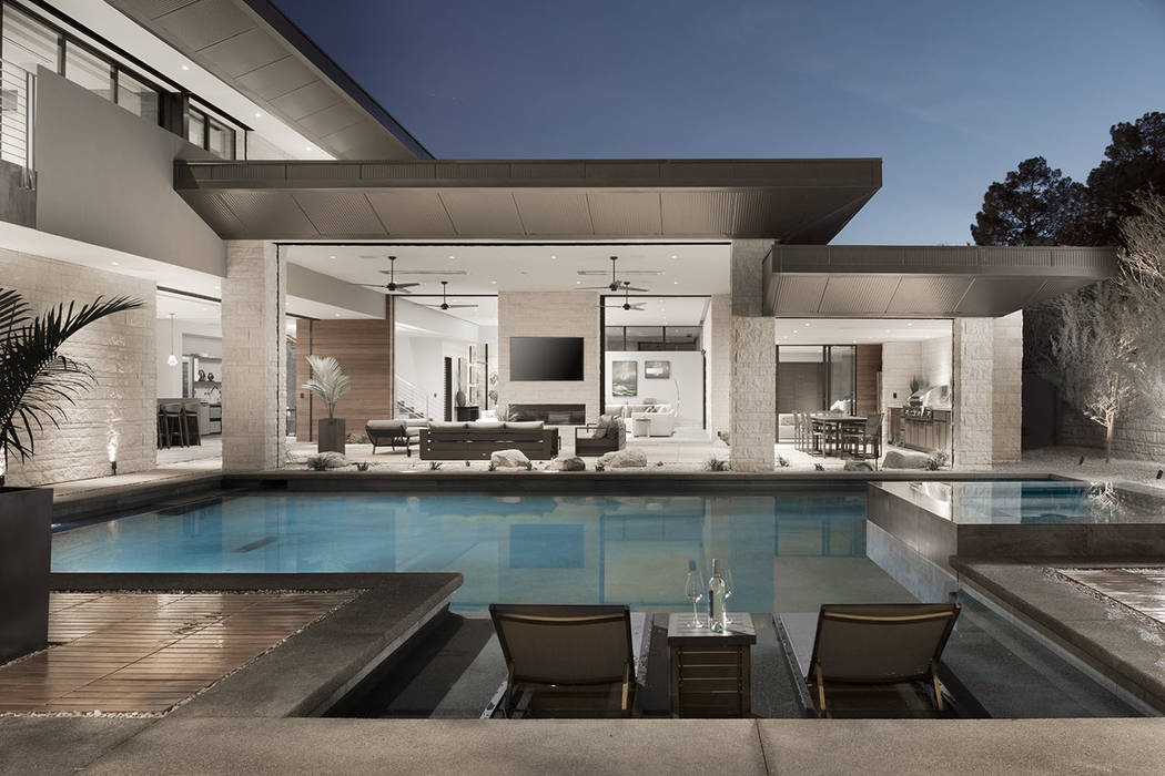 The pool area. (Studio G Architecture)