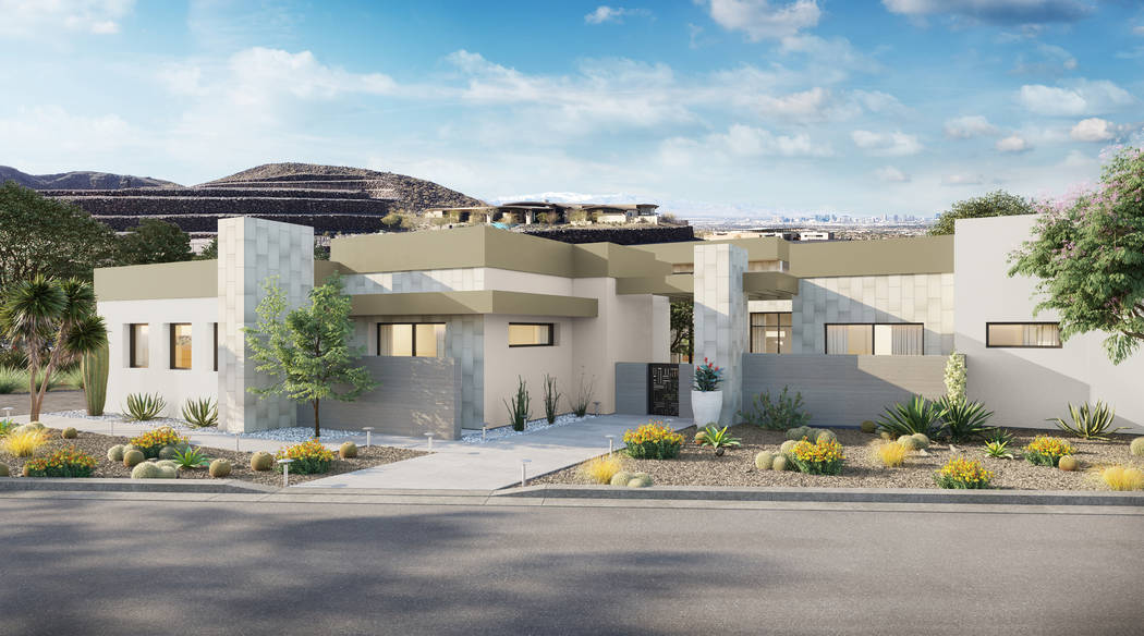 The 2019 New American Home in Ascaya was built by Sun West Custom Homes for the National Home B ...