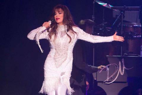 "Marie Osmond performs on Tuesday, Aug. 22, 2017, in Reading, Pa. Osmond will join the ""The Talk ..."