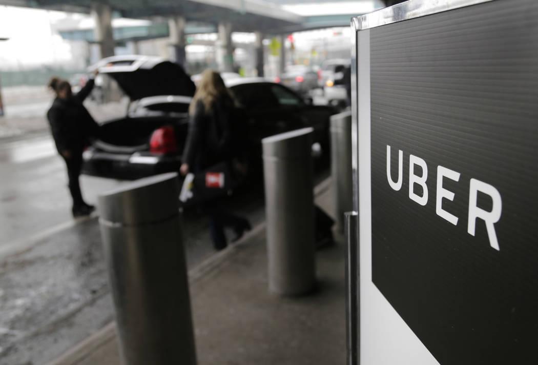 uber driver las vegas airport