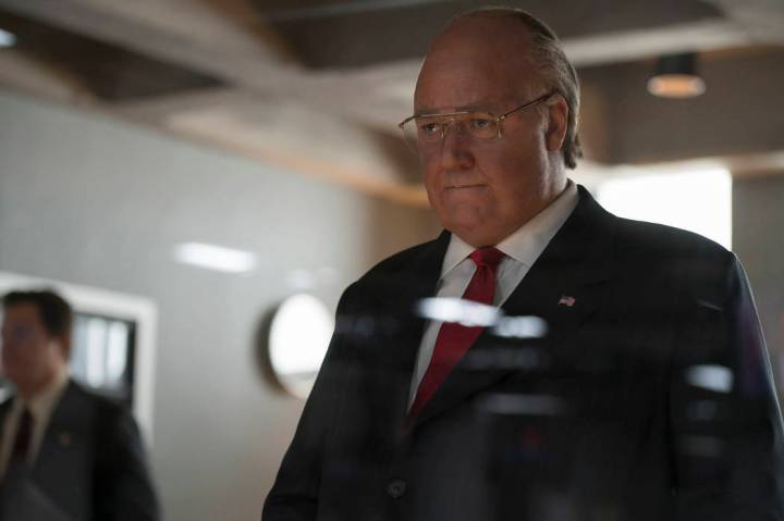 Russell Crowe as Rodger Ailes in The Loudest Voice (Episode 102). - Photo: JoJo Whilden/SHOWTIME