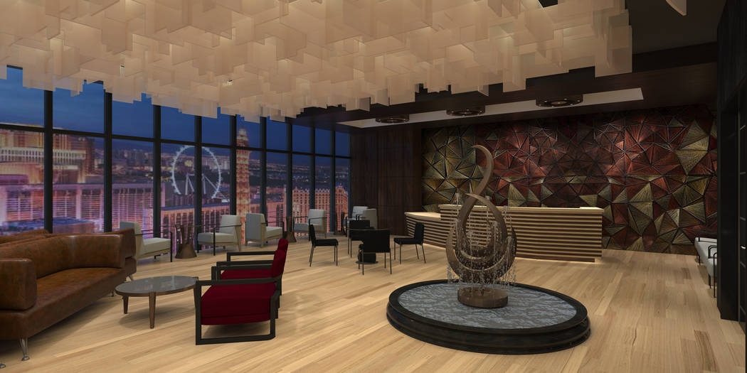 Developer Lorenzo Doumani received Clark County approvals for Majestic Las Vegas, a rendering o ...