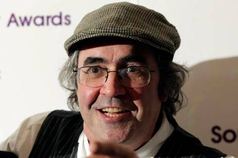 FILE - In this May 13, 2013 file photo, Danny Baker poses for a photo in London. A BBC DJ has b ...
