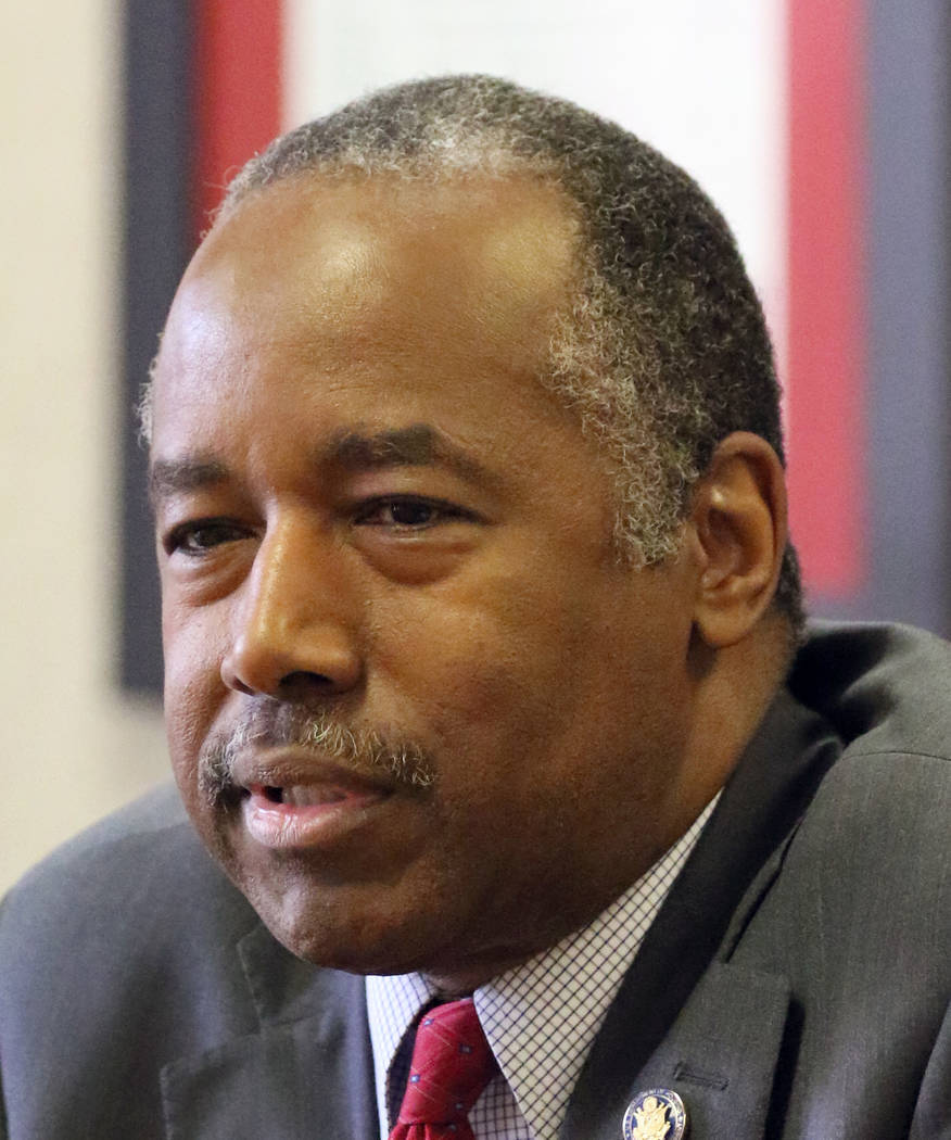 Ben Carson, secretary of Housing and Urban Development, discusses his work on Opportunity Zone ...