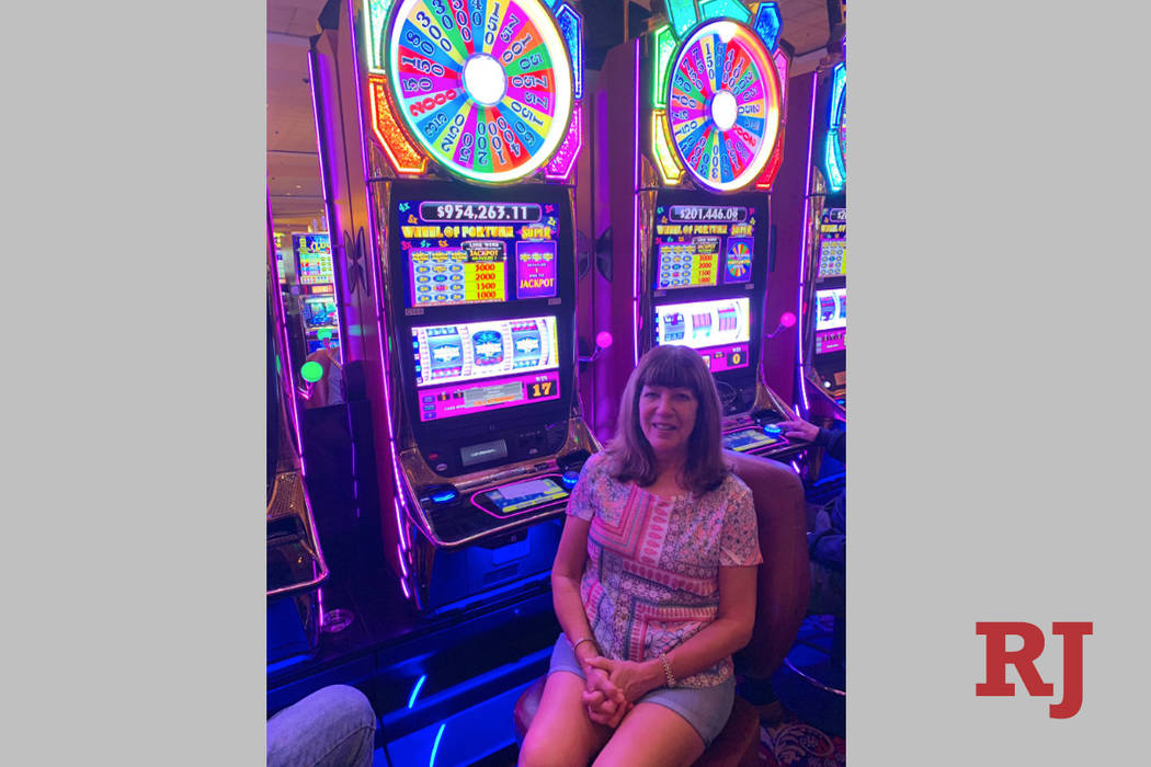 A guest at the South Point who hit a jackpot worth $954,263.11 Wednesday night. (SouthPointlv/T ...