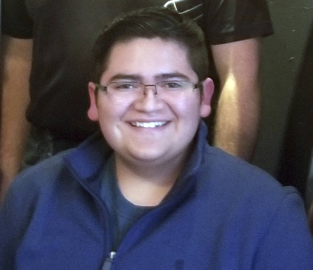 This undated photo provided by Rachel Short shows Kendrick Castillo, who was killed during a sh ...